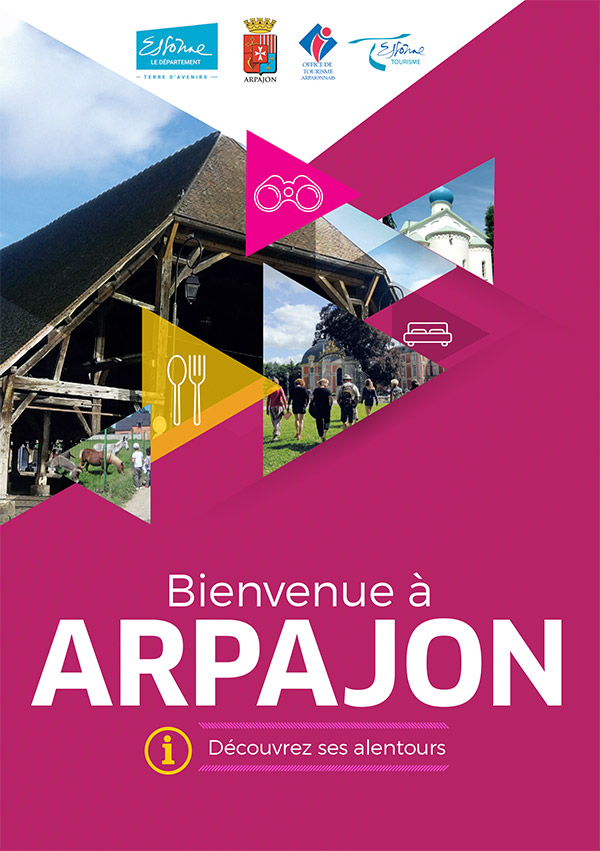 Brochure Bienvenue à Arpajon