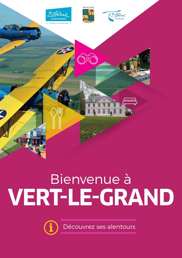 Brochure Bienvenue à Vert-le-Grand