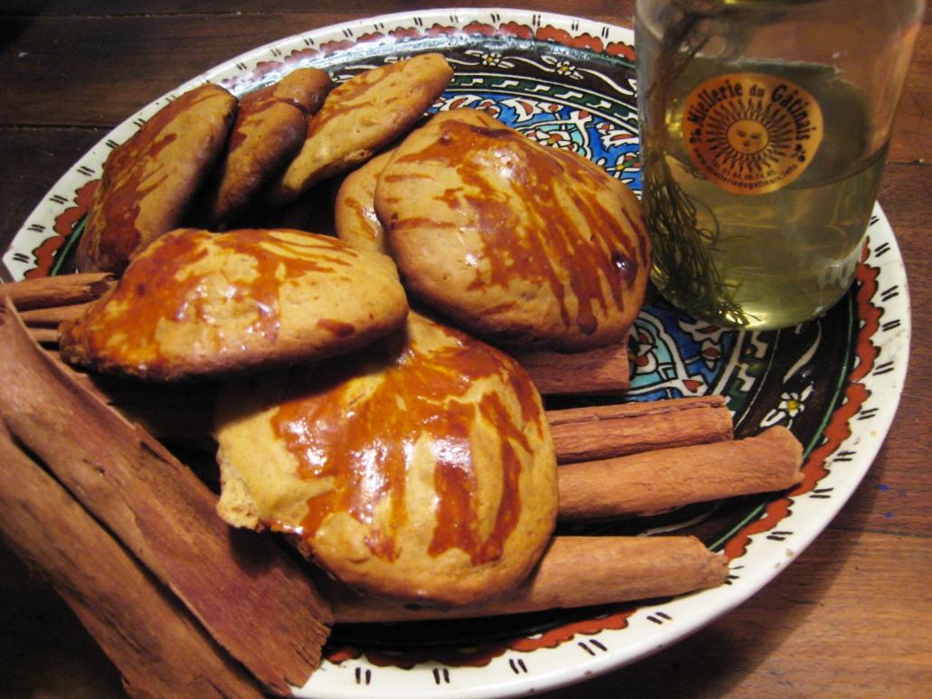 Recette Biscuits miel du Gâtinais et cannelle