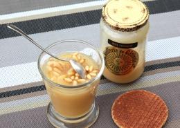 Recette Douceur crémeuse de pommes et de pignons au miel du Gâtinais et aux épices