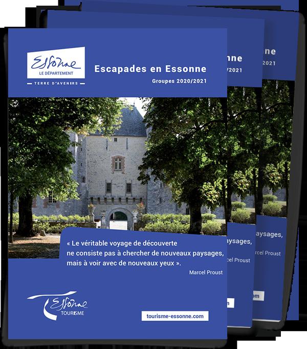 Brochure Escapades en Essonne pour les Groupe 2020 / 2021